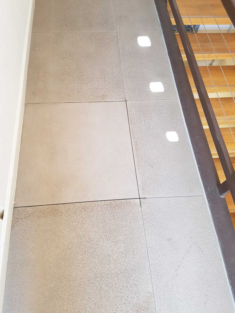 Cleaning tile common areas Melbourne | Performance Property Services Group