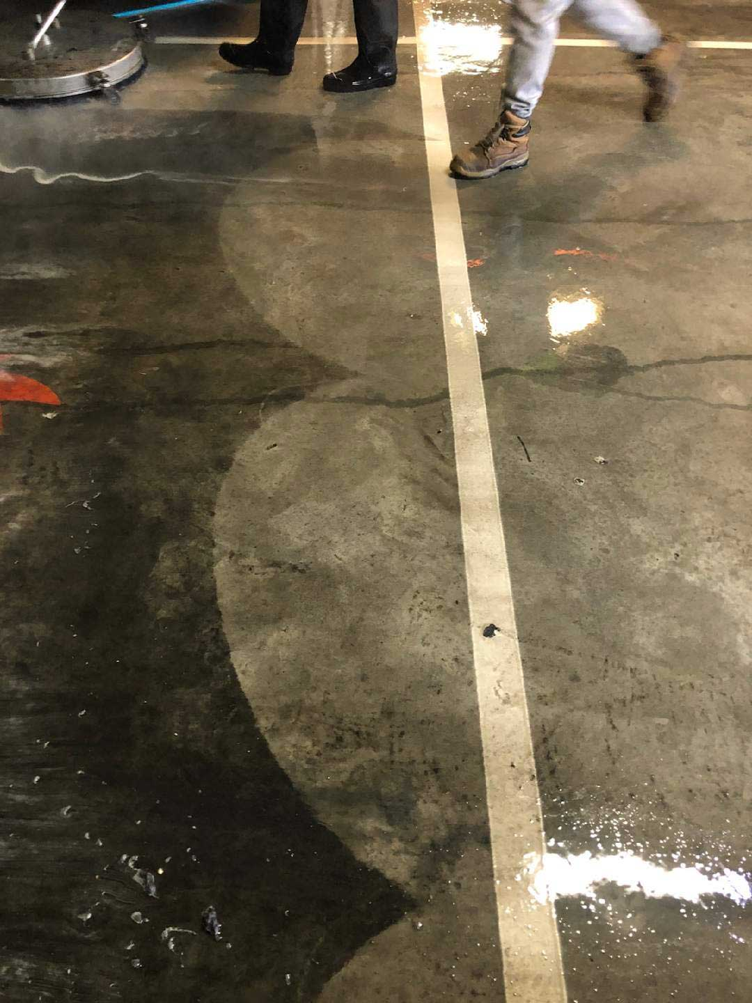 Carpark Concrete Cleaning Collingwood   Melbourne   Performance Cleaning